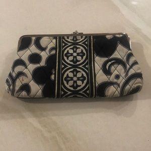 Vera Bradley quilted wallet clutch